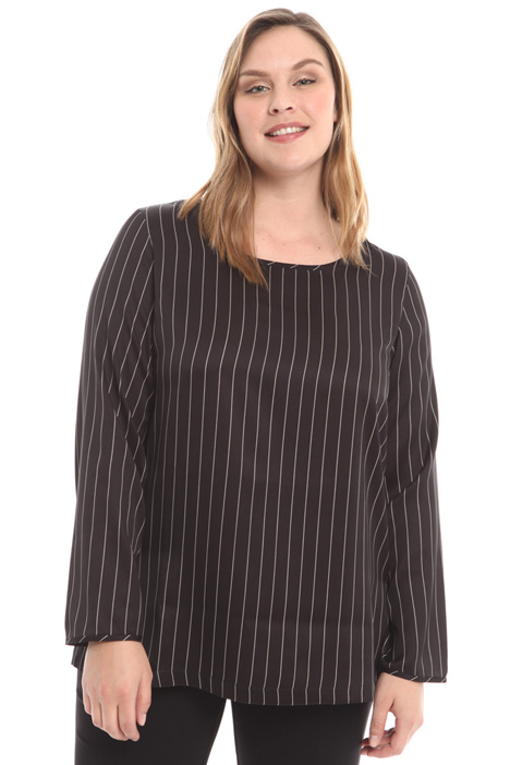 Striped twill shirt Intrend