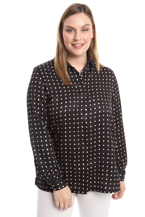 Printed twill shirt Diffusione Tessile
