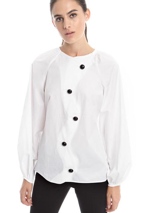 Wavy hem shirt Diffusione Tessile