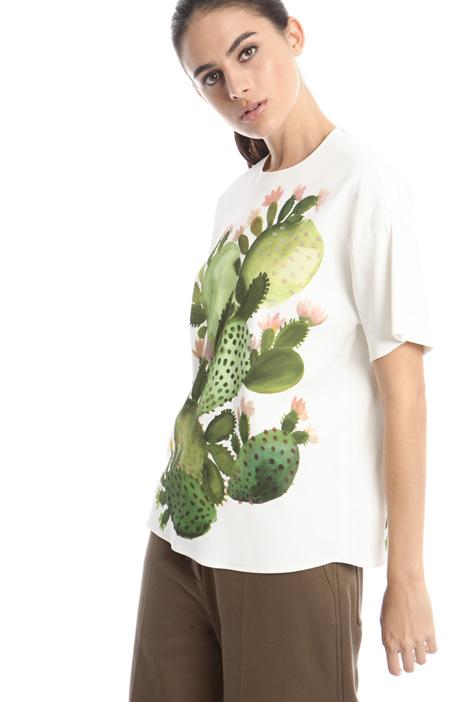 T-shirt con maxi stampa Diffusione Tessile