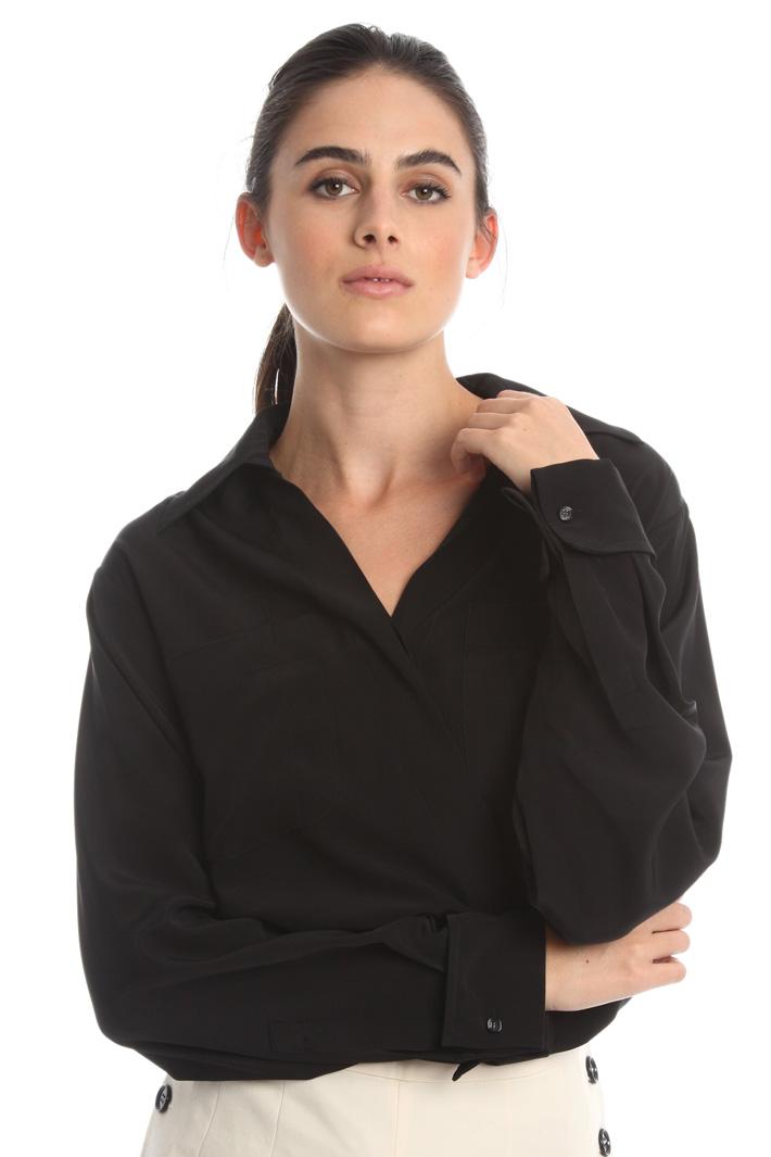 Camicia in seta pesante Diffusione Tessile