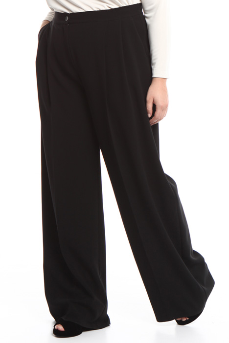 Pantalone palazzo in cady Diffusione Tessile