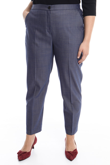 Silk and wool trousers Intrend