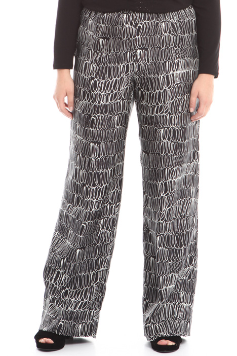 Silk twill trousers Intrend