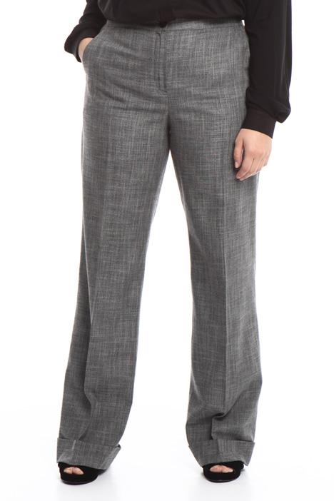 Pantalone lungo con risvolti Diffusione Tessile