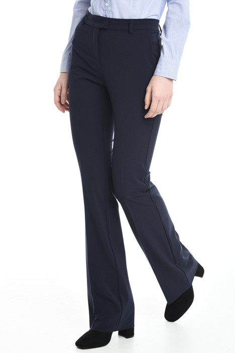 Fitted stretch trousers Diffusione Tessile