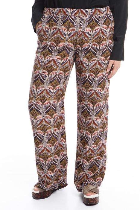 Pantalone palazzo in seta Diffusione Tessile
