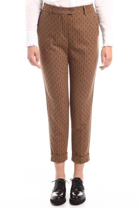 Pantaloni fantasia in flanella Diffusione Tessile