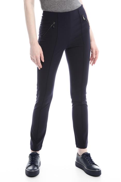 Pantaloni con zip Diffusione Tessile