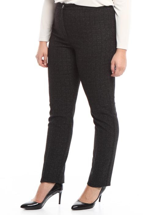 Pantalone aderente jacquard Diffusione Tessile