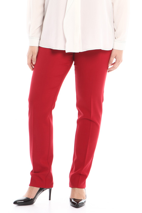 Trousers in stretch fabric Intrend