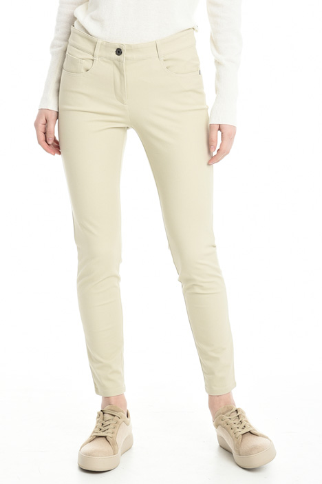 Stretch gabardine trousers Diffusione Tessile