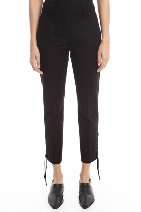 Cotton canvas trousers Diffusione Tessile