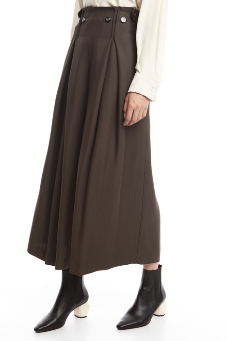 Pantaloni gamba larga Diffusione Tessile