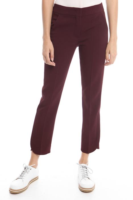 Pantaloni con spacco sul fondo Diffusione Tessile