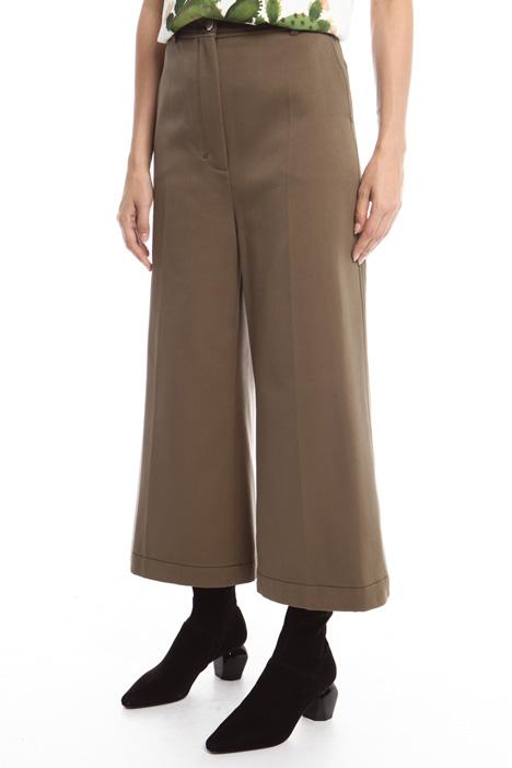 Pantaloni palazzo in bull Diffusione Tessile