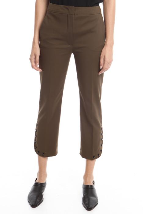 Pantaloni con borchie Diffusione Tessile