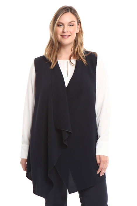 Long triacetate vest Intrend