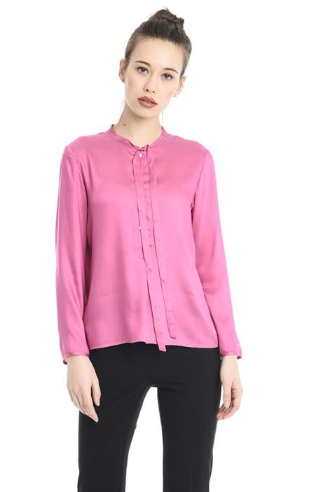 Camicia in viscosa e seta Diffusione Tessile