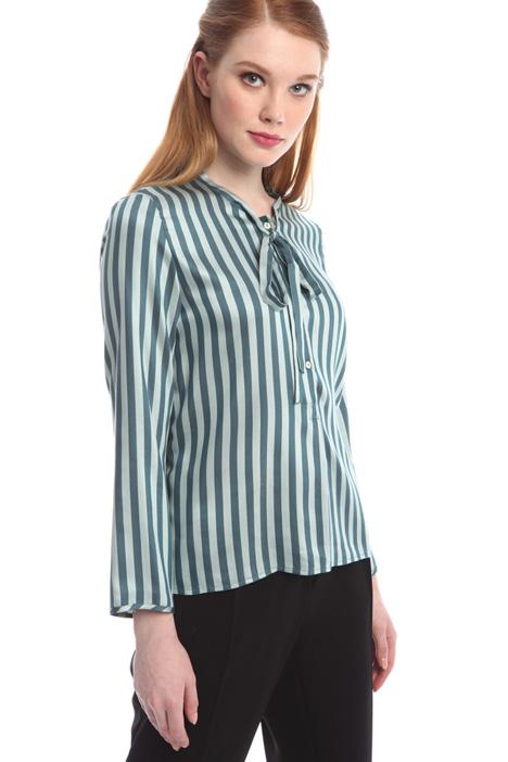 Silk and viscose shirt Diffusione Tessile
