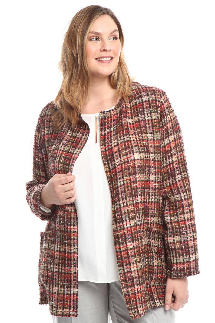 Giacca in stuoia di lana  Diffusione Tessile
