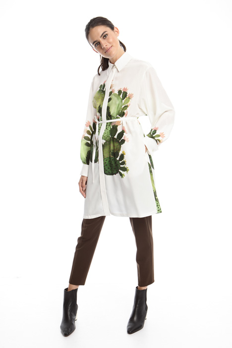 Pure silk chemisier dress Intrend