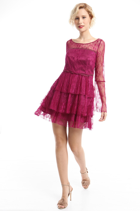 Flounced lace dress Intrend