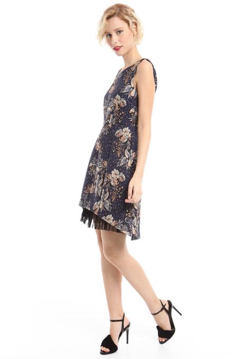 Princess-line jacquard dress Intrend