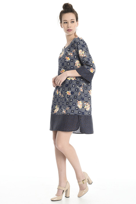 Oversized pure silk dress Diffusione Tessile