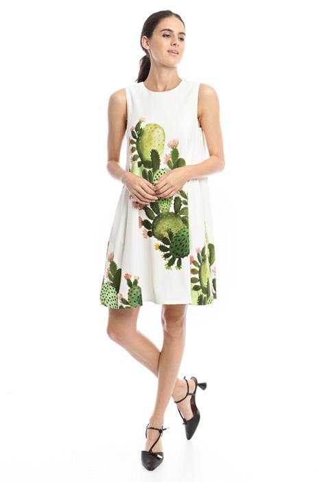 Maxi print dress Intrend