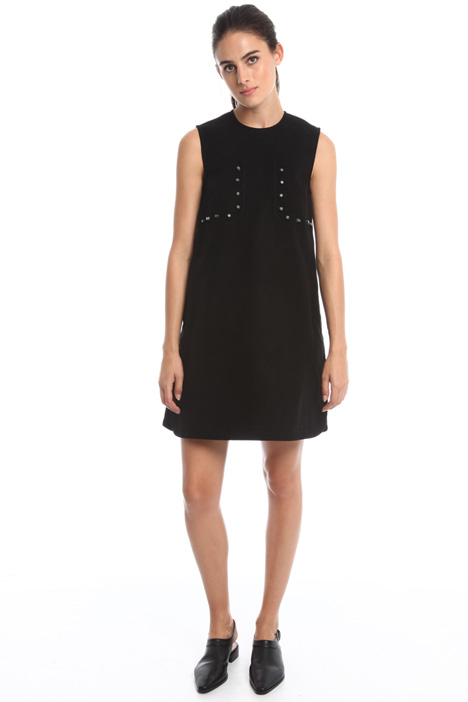 Flared dress with studs Intrend