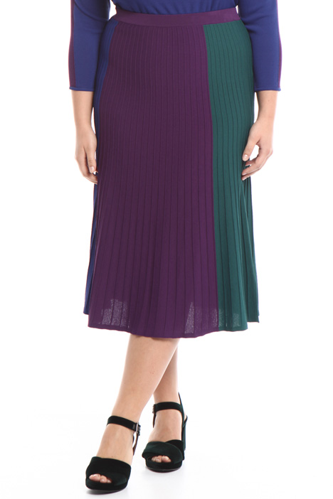 Color-block midi skirt Intrend