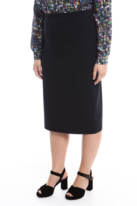 Knitted pencil skirt Diffusione Tessile