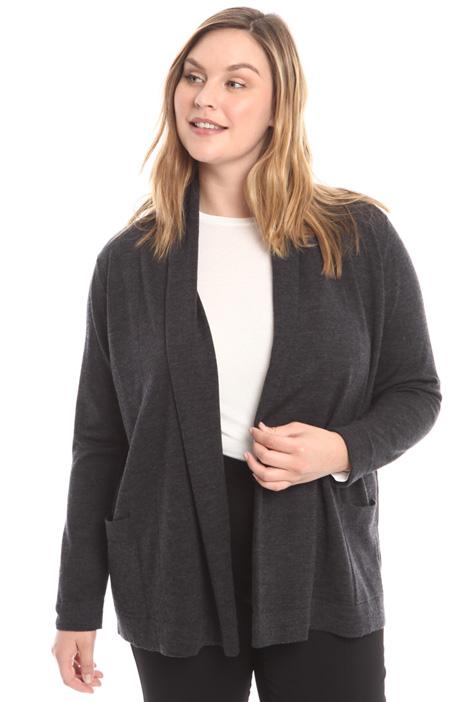 Shawl collar cardigan Diffusione Tessile