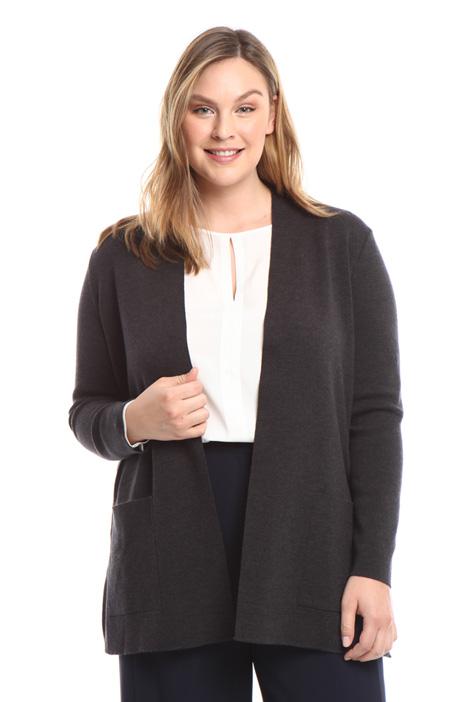 Cardigan in lana vergine Diffusione Tessile