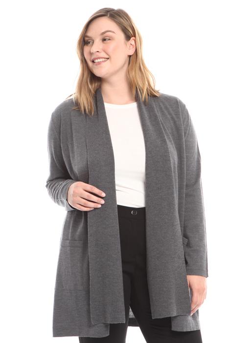 Cardigan in lana vergine