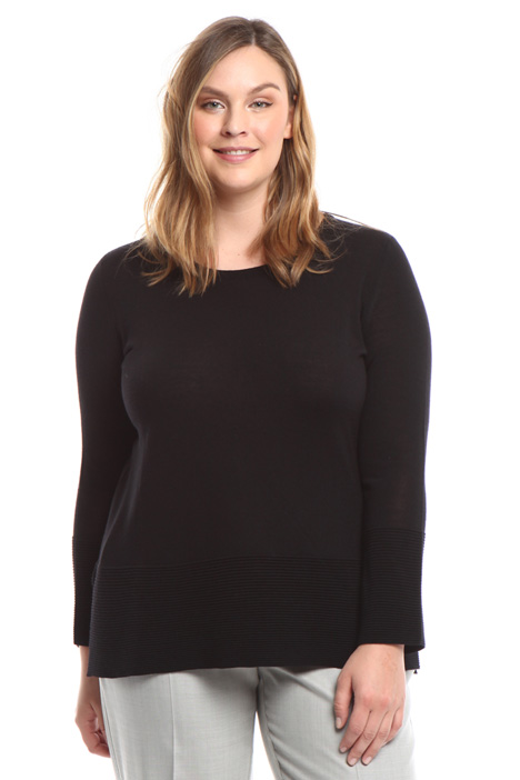 Wool blend sweater Diffusione Tessile