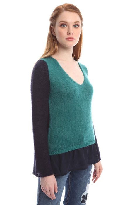 Mohair wool sweater Diffusione Tessile