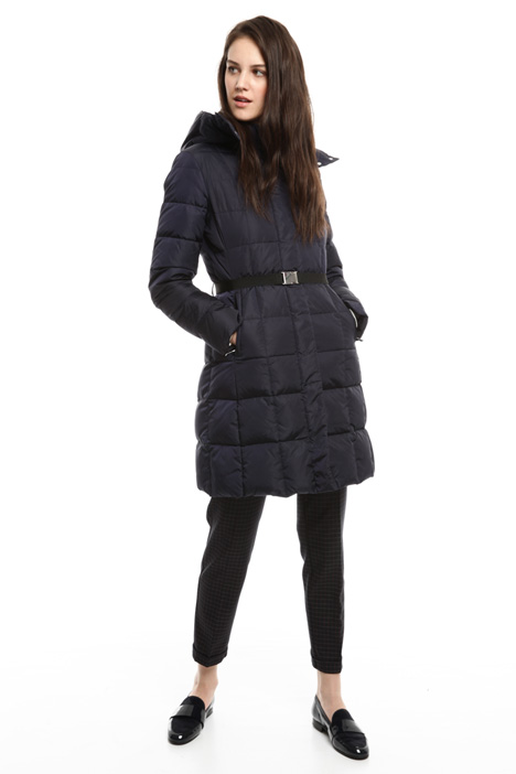 Fit and flare down coat Diffusione Tessile