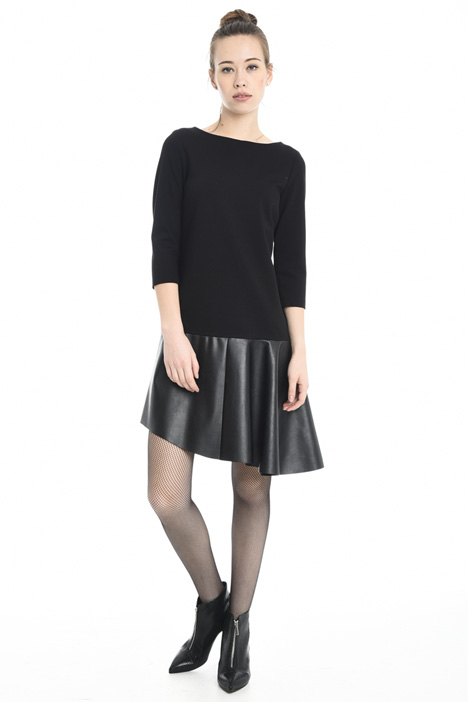 Coated jersey dress Diffusione Tessile