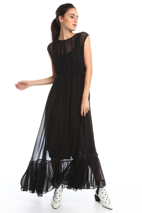 Georgette long dress Intrend