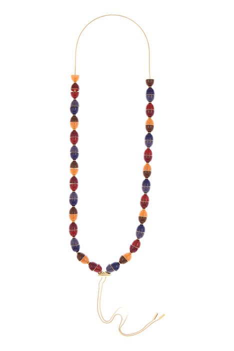 Collana con pietre multicolor Diffusione Tessile