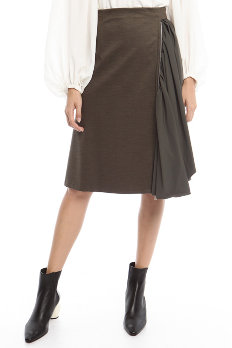 Skirt with maxi ruffle Intrend