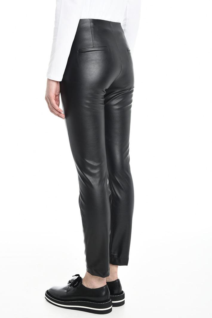 Pantaloni in jersey spalmato Diffusione Tessile