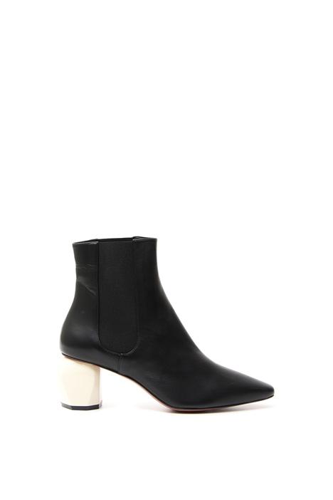 Shiny nappa ankle boots Diffusione Tessile