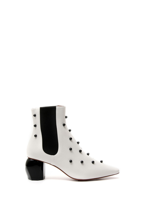 Ankle boots with boules  Diffusione Tessile