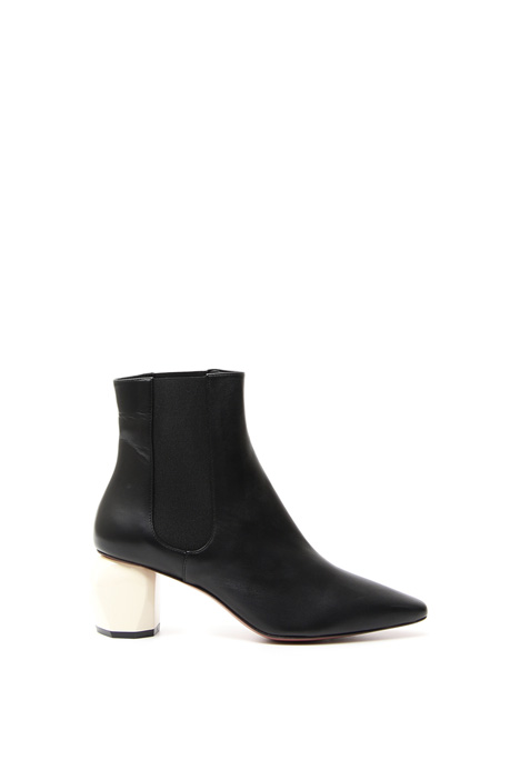 Nappa leather ankle boots   Diffusione Tessile