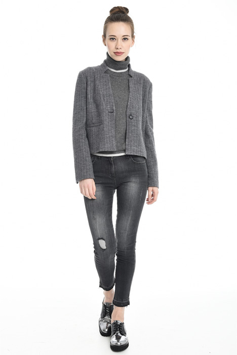 Wool jersey jacket Diffusione Tessile
