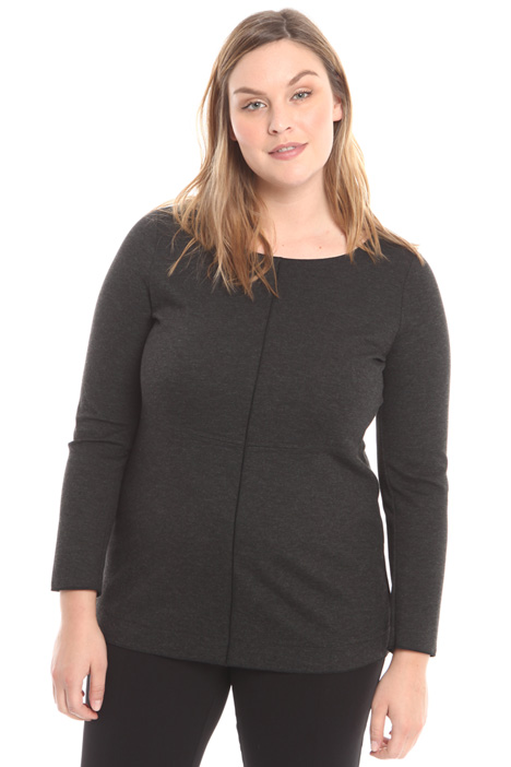 T-shirt in jersey di viscosa Diffusione Tessile