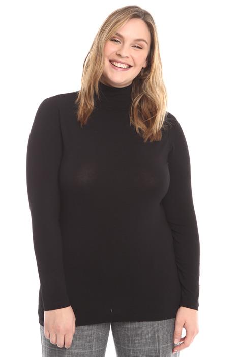 T-shirt con collo alto Diffusione Tessile